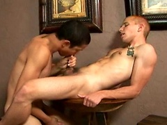 Latin twink Lucas Fucks Rob