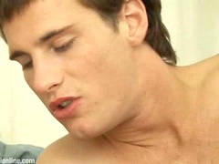 Hot boys Roger Lambert and Marco Bill sucking cocks