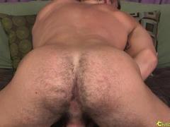 Simon plays with his boner