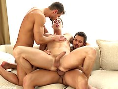 Rhys Jagger, Marcel Gassion and Marc Rufallo