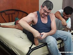 Alex Tickled and Milked