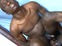 Cute ebony twinks fucking