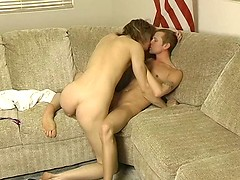 Tristan Vega sucks a mean dick in teasing slow motion and Adam Kensington is lucky enough to be on the receiving end.