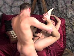 King of twinks experience the ultimate ass penetration with his servant