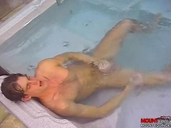 Hot Tub Fuck Machine!