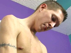 Hot Stud Rocks his Cock for the Camera