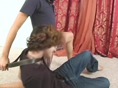 Dude gets his ass fucked