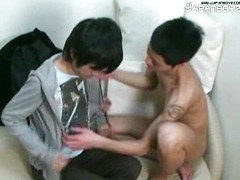 Skinny asian twinks fuck
