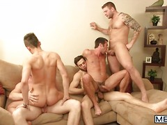 Intervention - JO - Jizz Orgy - Andy Taylor - Colby Jansen - Connor Maguire - Mike De Marko & Tommy Defendi