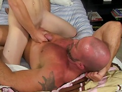 Anthony Evans And Casey Williams - Anthony Rides Muscle Cock