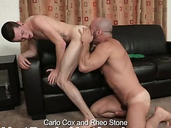 Carlo Cox & Rheo Stone in old vs young scene