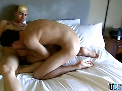 Seth Gets Dustin Cumming - Seth Tyler And Dustin Knox
