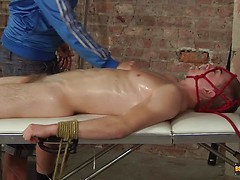 Tickled And Made To Cum Hard! - Luke Adams And Deacon Hunter