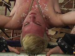 Flogged And Stroked Free Of Cum - Izan Loren And Sebastian Kane