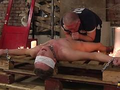 Taint Kicking Suck Off! - Cameron James And Sebastian Kane