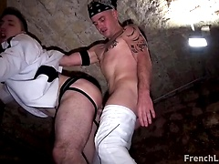 Jockstrap Chav Banged By Buddy