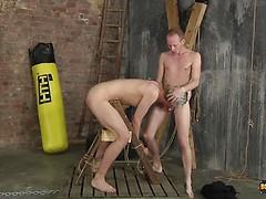 Feeding & Fucking The New Boy! - Darren Cross & Sean Taylor