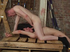 Sean Has A Slave Mouth To Feed! - Xavier Sibley & Sean Taylor